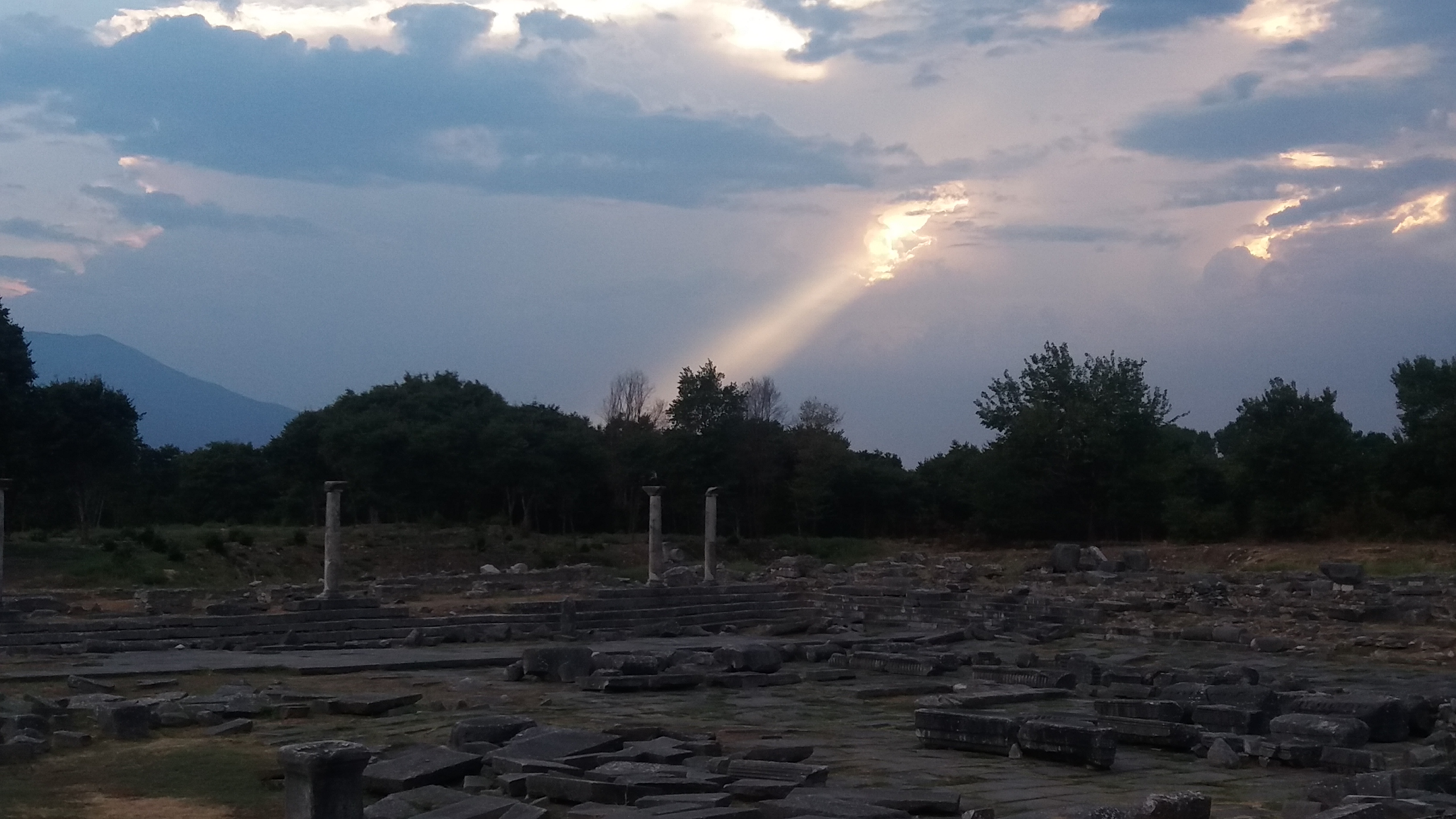 The archaeological site of Philippoi